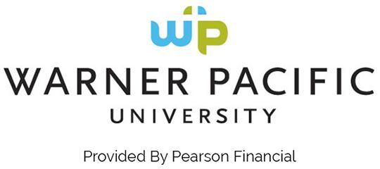 Logo and text for Warner Pacific University