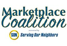 Logo and text for Serving Our Neighbors's Marketplace Coalition