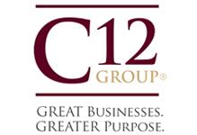 Logo and text for C12 Group