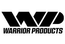Logo and text for Warrior Products