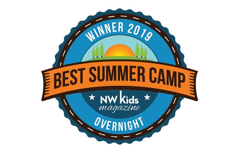Winner of 2019 Best Overnight Summer Camp thanks to NW Kids Magazine