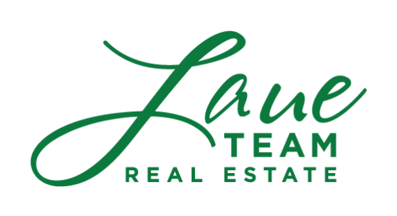 Logo and text for Laue Team Real Estate